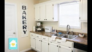 HOW TO PAINT KITCHEN CABINETS | KITCHEN MAKEOVER PART 2
