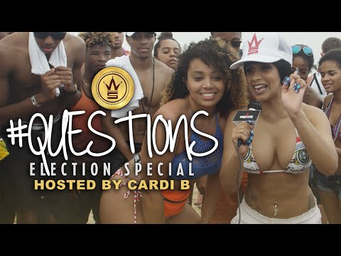 """WSHH's """"Questions"""" Election Special Hosted by Cardi B!"""