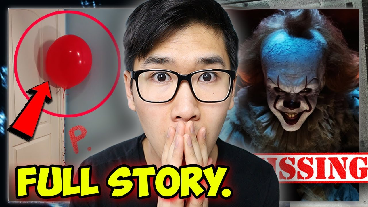 When you see this RED BALLOON, RUN and HIDE | CLOWN HORROR STORY ...(Story Time)