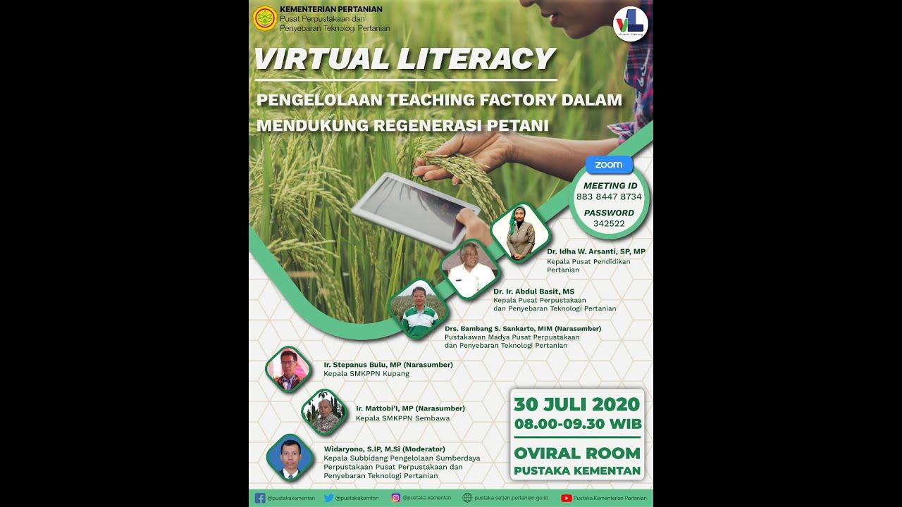 Virtual Literacy: Pengelolaan Teaching Factory dalam Mendukung Regenerasi Petani