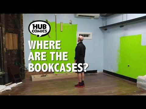 """Hub Comics - Ad - 2020-07-21 """"Where Are The Bookcases?"""""""