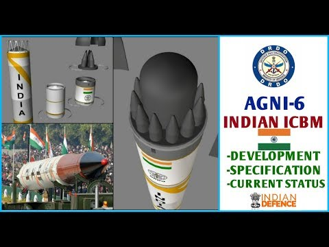 Indian Defence News : Agni 6 Missile,All Updates On DRDO's Agni VI Missile(Hindi),Agni 6 Latest News