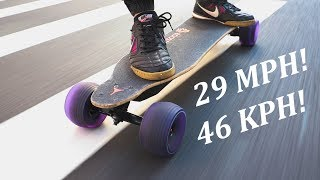 MONSTER BOOSTED BOARD WHEELS: NEW SPEED HACK!