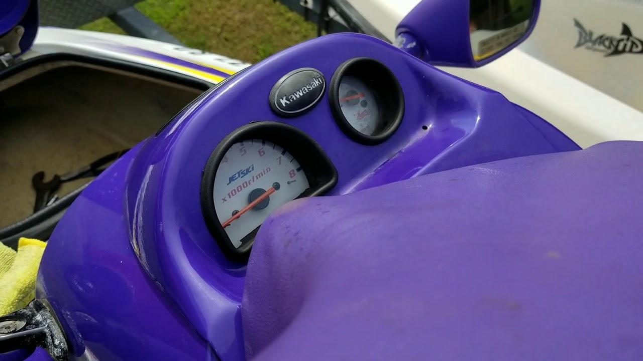 1996 Kawasaki trim