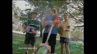 Super Soaker Supercharger Power Pak Hasbro Larami Water Gun Toy Commercial