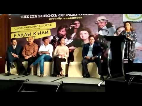 Farah  Talks About Teachers Training Program Of The ITA | Bollywood 2016