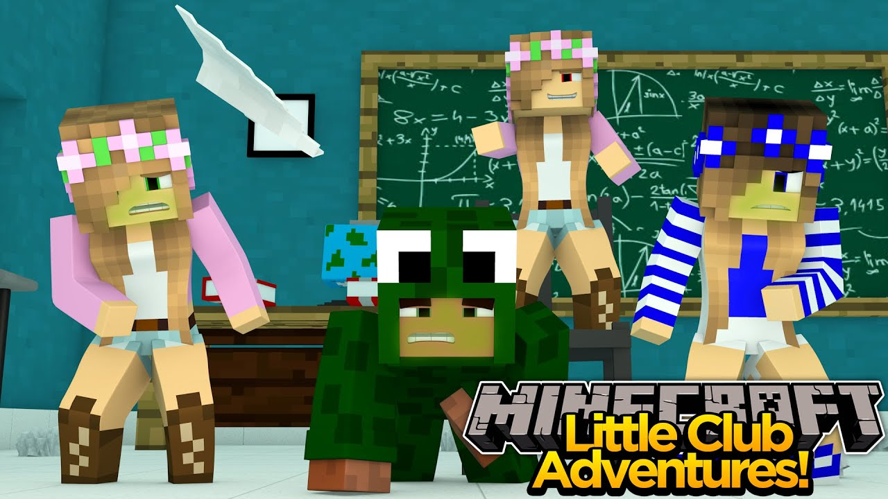 Minecraft little club adventures evil little kelly is - The little club ...