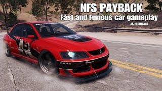 Need For Speed Payback | Fast and Furious Car Gameplay