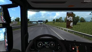 Euro Truck Simulator 2 - Driving from Cologne to Le Mans (One Truck Family Event) [4K 60FPS]