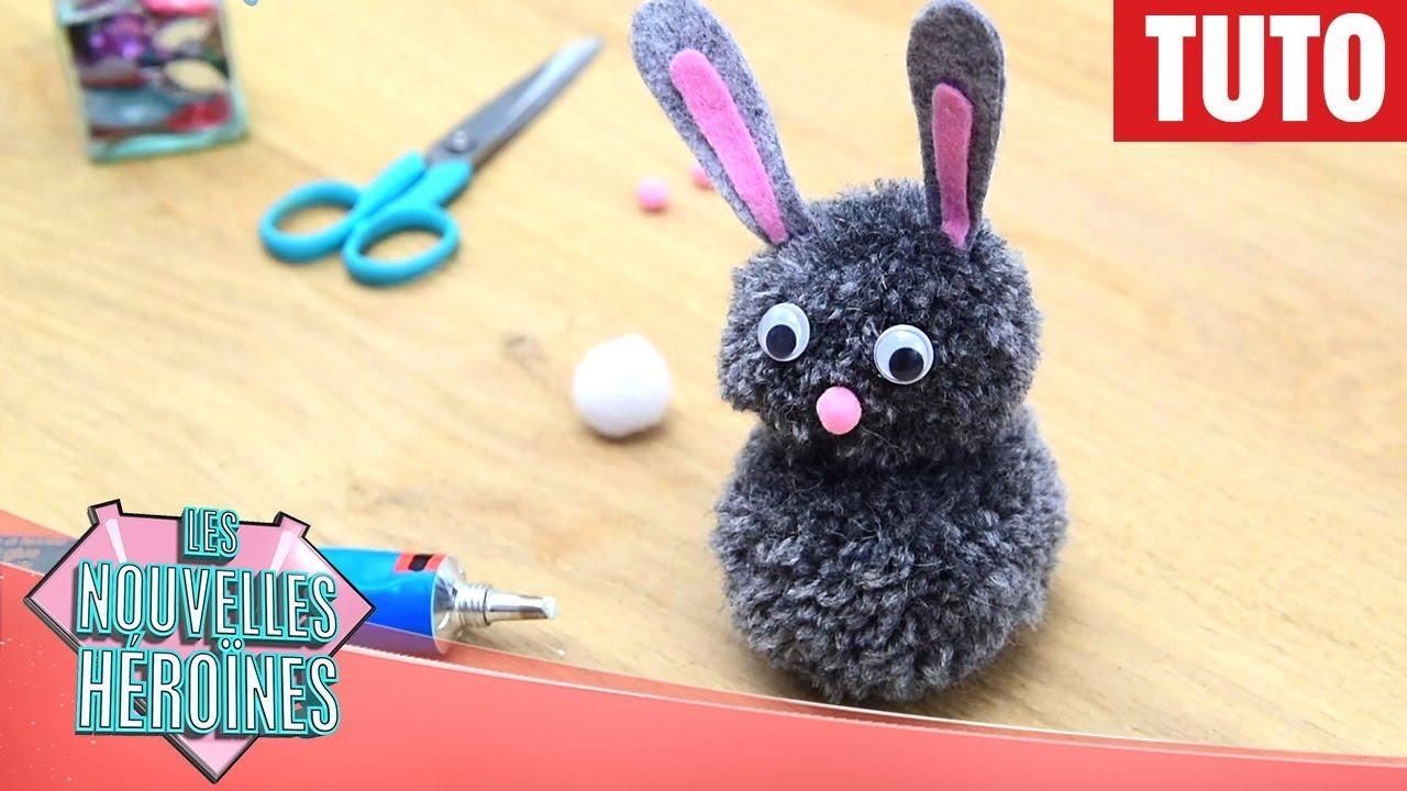 Les nouvelles h ro nes tuto le lapin pompon de - Lapin princesse sofia ...