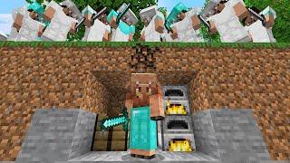 Minecraft Manhunt but I secretly used a MORPH MOD...