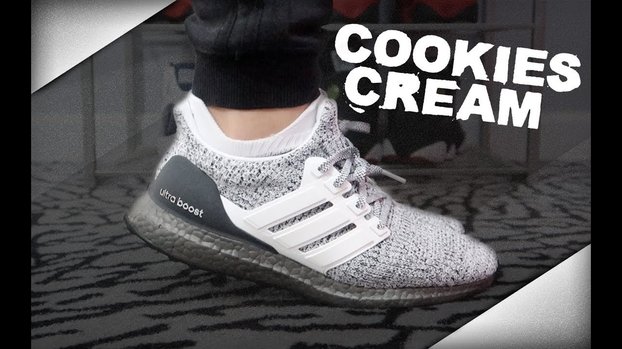 12815256519df adidas UltraBoost 4.0  Cookies  n Cream  - YouTube