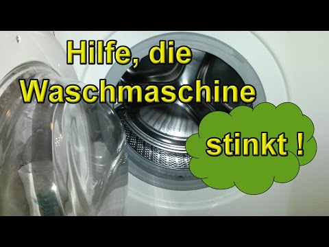 HILFE – Die Waschmaschine Stinkt – Was Tun Wenn Die Wäsche Riecht ! - Hausmittel Tutorial Lifehack