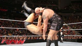 Big Show vs. The Miz: Raw, July 20, 2015