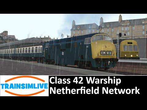 Train Simulator 2019 - Nottingham Victoria To Newstead - Class 42 On Netherfield Network ( FAIL )