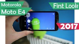Motorola Moto E4 - Specs 2017
