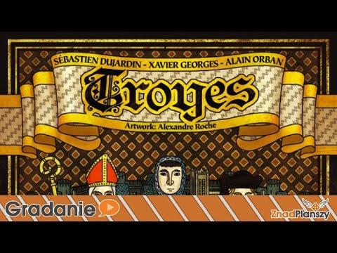 Troyes - Setka na trzech #26 - PREZENTACJA - gra planszowa
