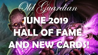 Hearthstone June 2019 Hall of Fame and new Basic and Classic cards review!