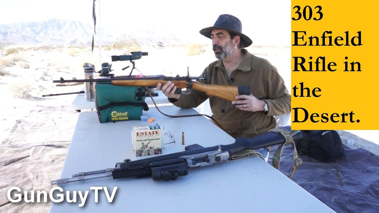 The Great Lee Enfield 303 Rifle