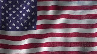 USA Flag - Animated Looping Background
