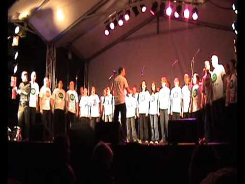 The Manchester Lesbian and Gay Chorus HIV and AIDS Candlelit Vigil Manchester Pride 2009