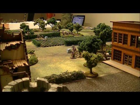 Bolt Action #79 Battle Report Patron Campaign German Normandy vs British  1000 points
