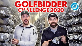 Last Ever £500 Golfbidder Challenge | Rick Shiels vs Peter Finch | Golf Club Selection 2020