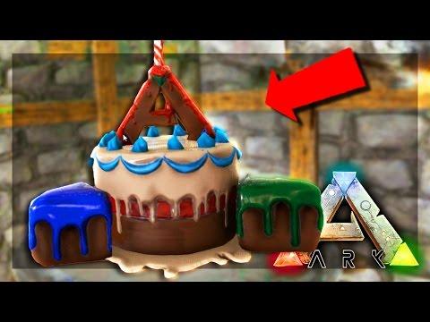 ARK: Survival Evolved Server - BIRTHDAY CAKE! #56
