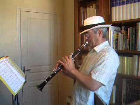 Melancholy Blues - Traditional Jazz Clarinet