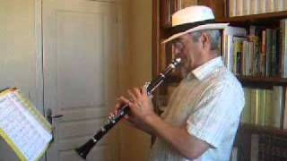 Melancholy Blues - Traditional Jazz Clarinet