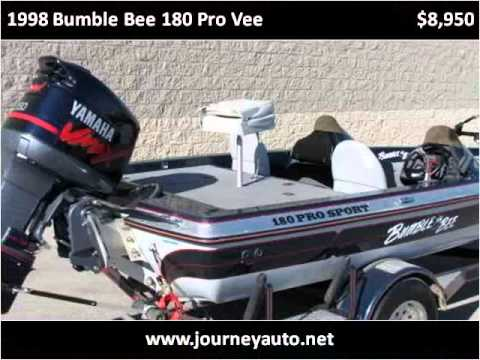 1998 bumble bee 180 pro vee used cars berea ky youtube. Black Bedroom Furniture Sets. Home Design Ideas