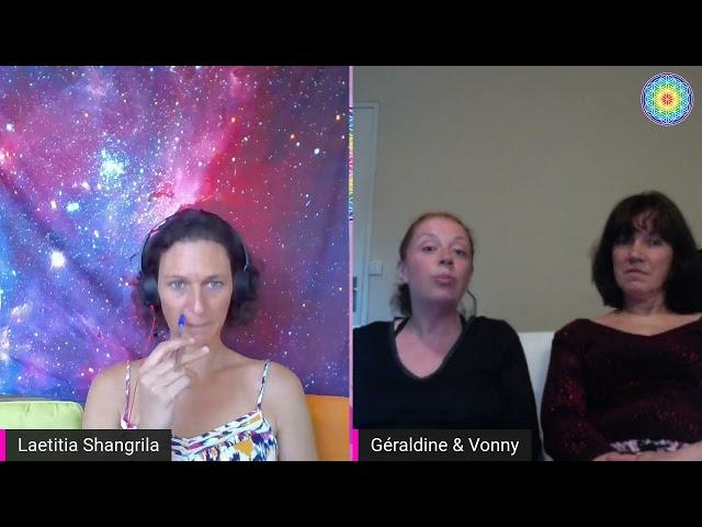 échange entre copines - supramental - supraconscience