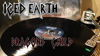 Iced Earth Dragon 39 S Child Black Vinyl Lp