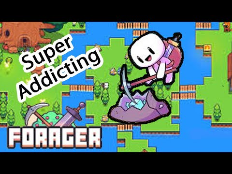 I Am ADDICTED To This Game | Forager Gameplay |