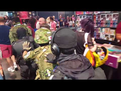 JGSDF ANTI-DEGENERACY TASK FORCE CLOSES IN ON TRAP STRONGHOLD [LVL UP EXPO 2018]