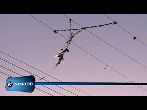 Linhas de pipa com cerol podem prejudicar redes de energia elétrica