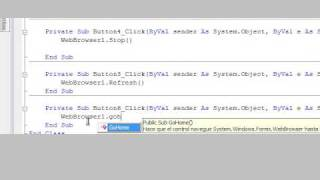 VisualBasic 2008 - WebBrowser Simple. Tutorial Español