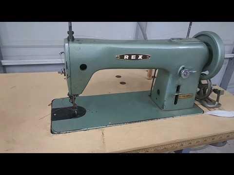 Auto Upholstery sewing machine standard basics