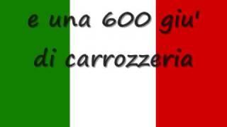 L'italiano ( l asciatemi cantare  ) Toto Cotugno - lyrics