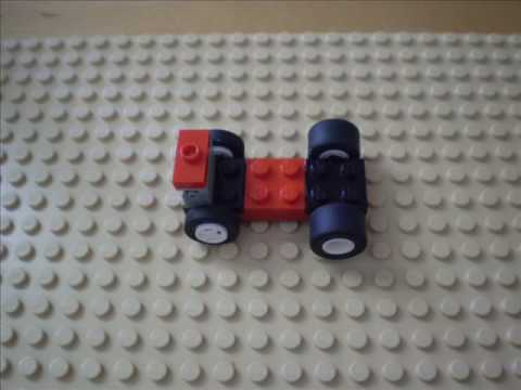 how to build a lego mario kart