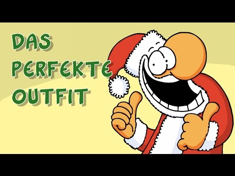 Rudolpf's neues Weihnachts-Outfit