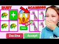 I Got SCAMMED In Adopt Me! Giraffe Pet Scammer..