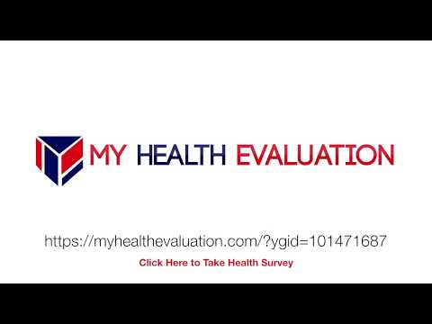Where Are You Nutrient Deficient?   Health Evaluation Survey Tutorial