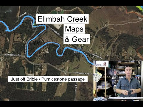 Fishing Elimbah Creek, Maps, And Tactics For Bream, Flathead And Whiting. Land And Bay Fishing.