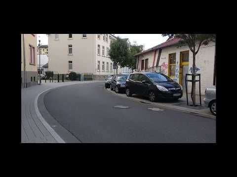 300kph Through a Small German Town