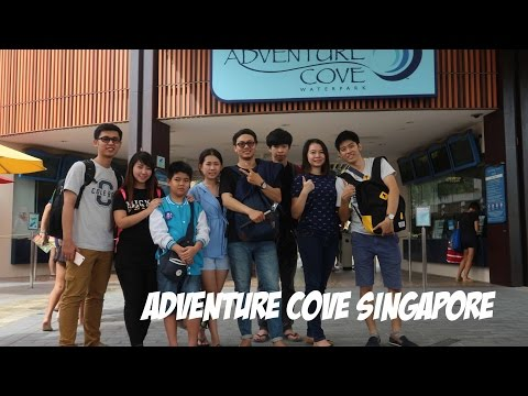VLOG : One Day Trip To Adventure Cove Waterpark [ Sentosa Island, Singapore ] With SEYHEY & Friends