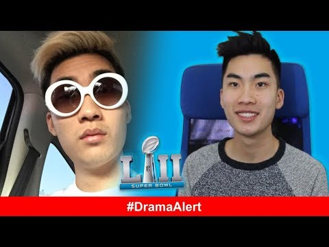 RiceGum SUPER BOWL COMMERCIAL!! DramaAlert Bill Murray ROASTS Logan Paul