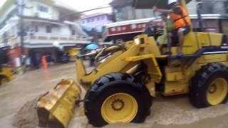 Koh Tao Monsoon and flooding  2017 january