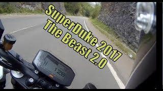 2017 KTM Superduke 1290 R Test Ride / Review