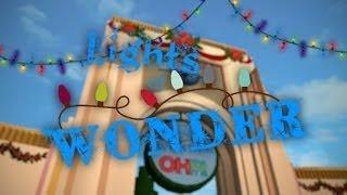 Universal Studios Roblox~ Lights of Wonder Christmas show
